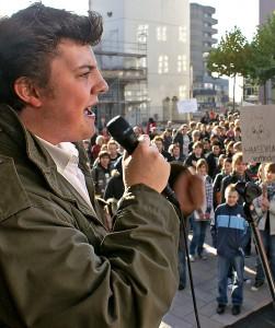 RND Demonstration gegen den NPD Ratsherrn Stephan Haase